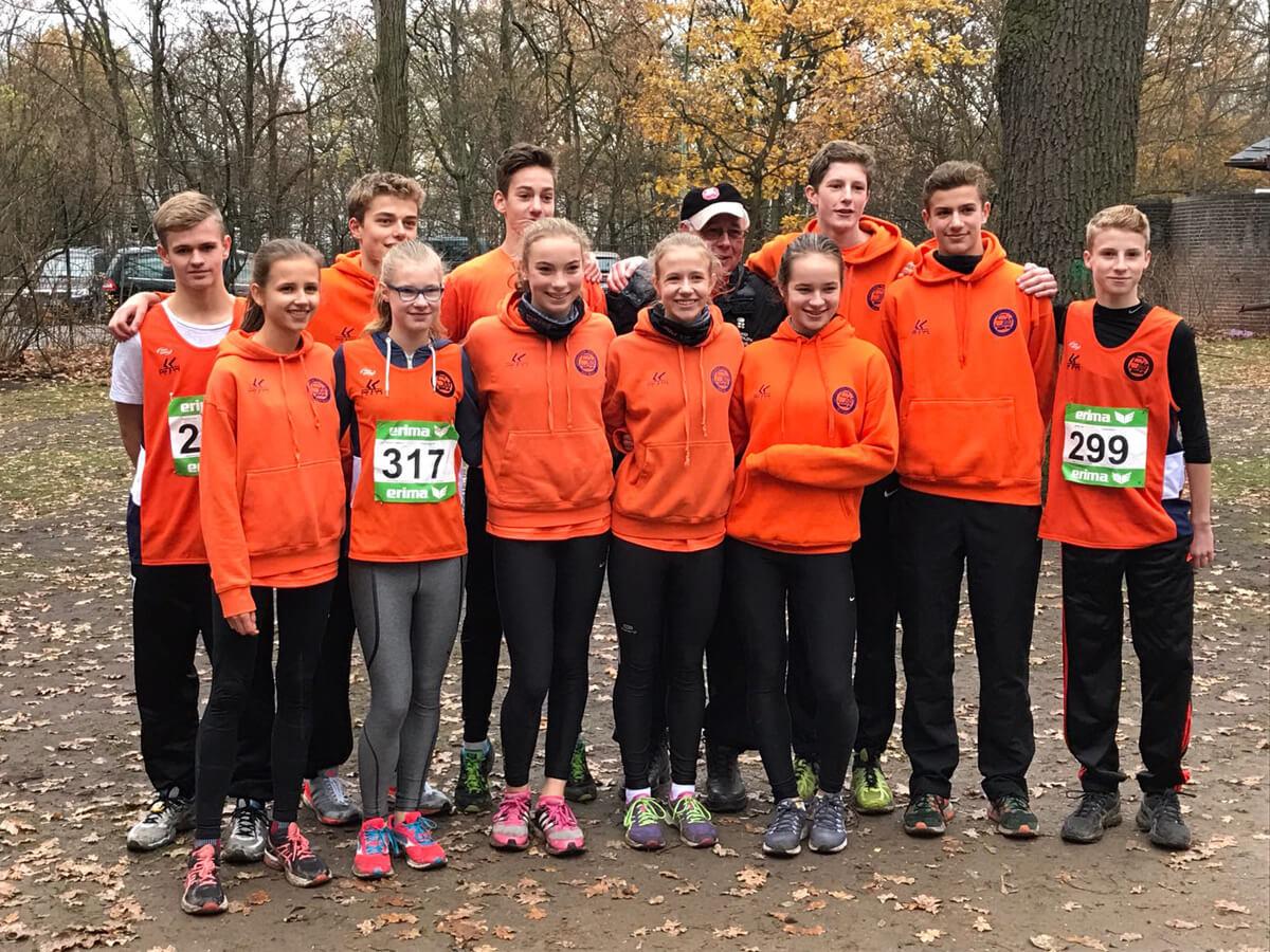 LG Süd Jungen werden Berliner Meister im Crosslauf