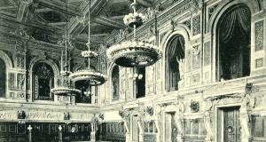 Feldmarschallsaal, Postkarte um 1900 Foto: Heimatarchiv Steglitz