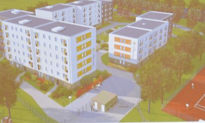 Wohnungsneubau für geflüchtete Menschen in der Bäkestraße: Für Kritik sorgen die Parkplätze