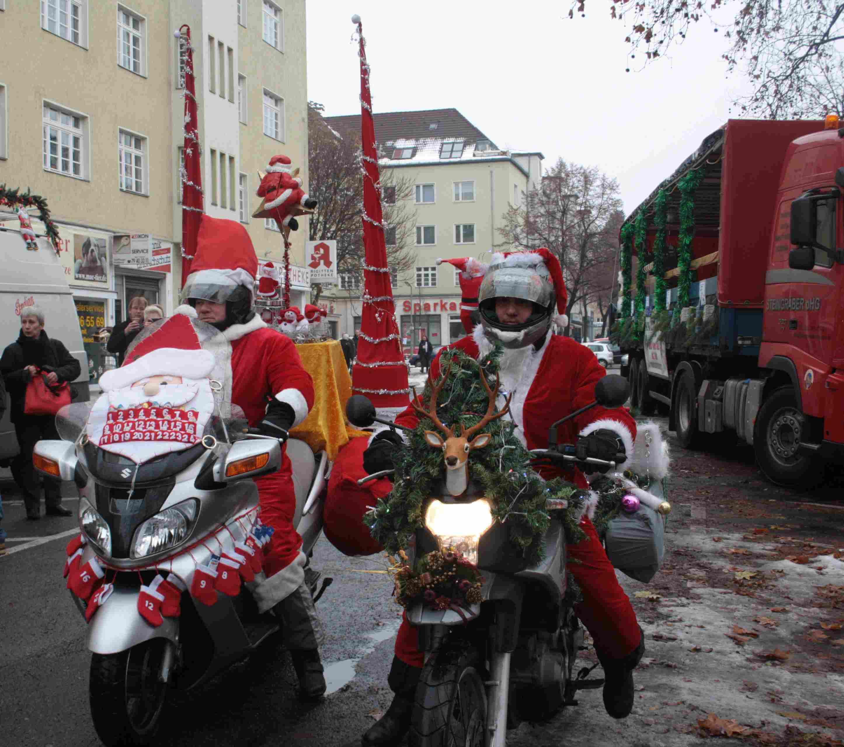 Christmas-Biker-Tour. Archiv-Foto: Gogol
