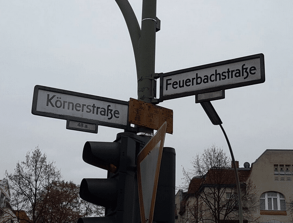 Feuerbachstraße Ecke Körnerstraße: Verkehrssituation soll verbessert werden