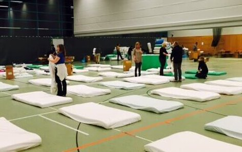 Turnhallen in Steglitz-Zehlendorf werden freigezogen