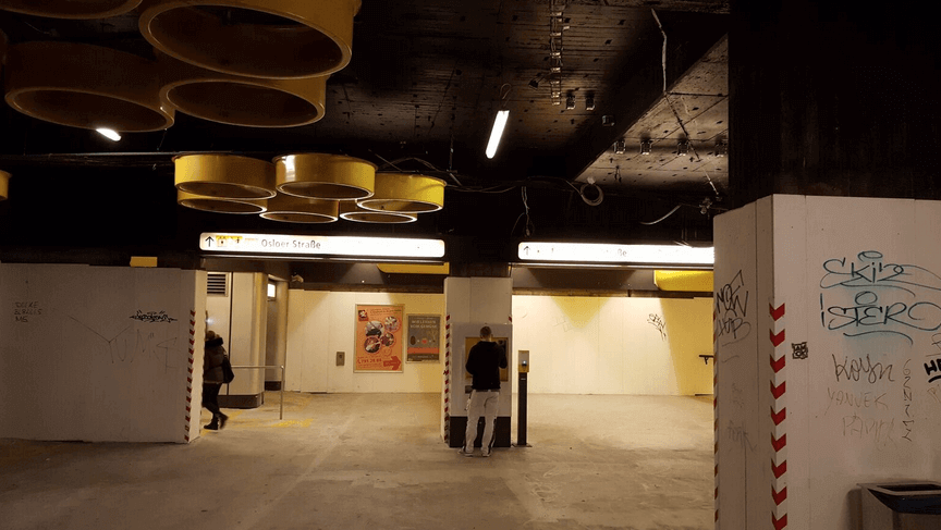 U-Bahnhof Rathaus Steglitz: Sanierung wird noch Jahre dauern