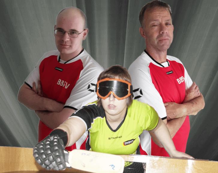 """Augenbinde, Schläger, Showdown – Wenn Blinde """"Tischtennis"""" spielen"""