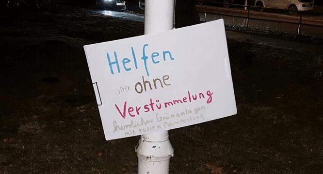 Kompromiss, mit dem Bürger und Bezirk leben müssen: Senat informiert über Flüchtlingsunterkunft an der Leonorenstraße