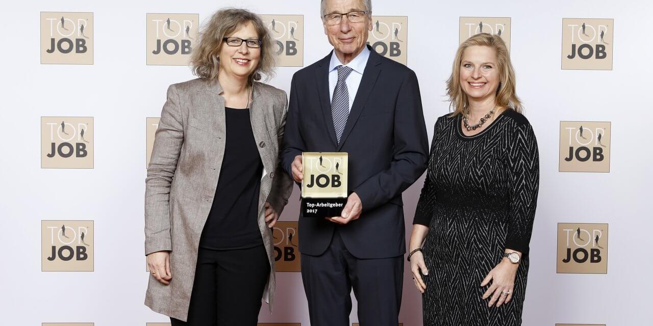 Zehlendorfer Unternehmen Knauer erhält Top-Job-Award 2017