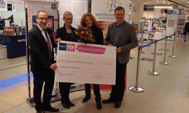 Mama ist die Beste: Karstadt spendet fünfstelligen Betrag an Stadtteilzentrum Steglitz