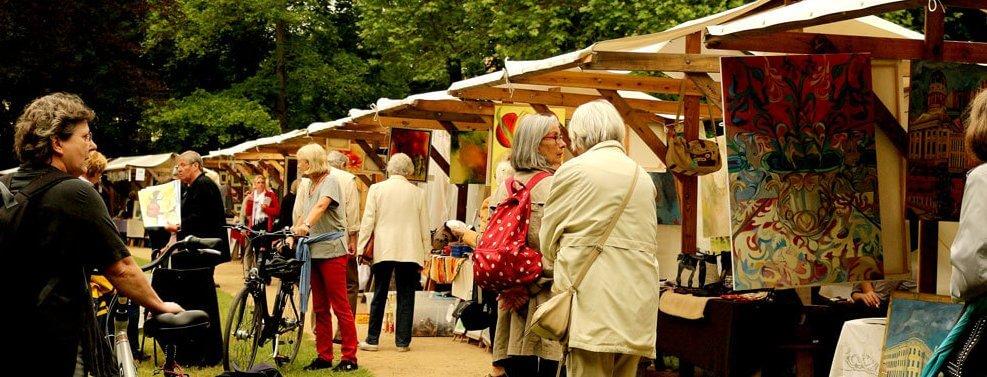 Kunstmarkt der Generationen in Lichterfelde geht in die vierte Runde