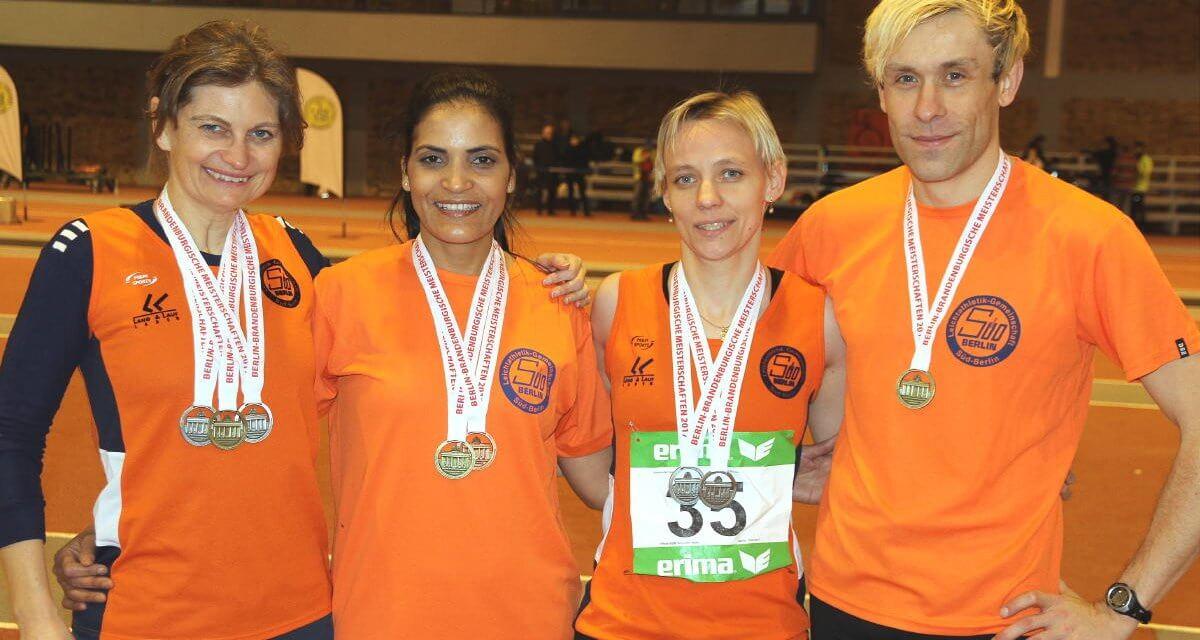 Leichtathleten der LG Süd räumen bei Seniorenmeisterschaften ab