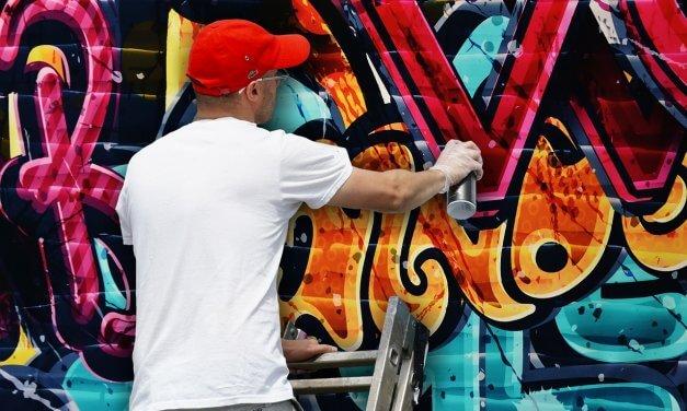 Graffiti-Sprayer in Zehlendorf auf frischer Tat gefasst
