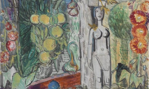 Charles-Crodel-Ausstellung bei Mutter Fourage in Wannsee