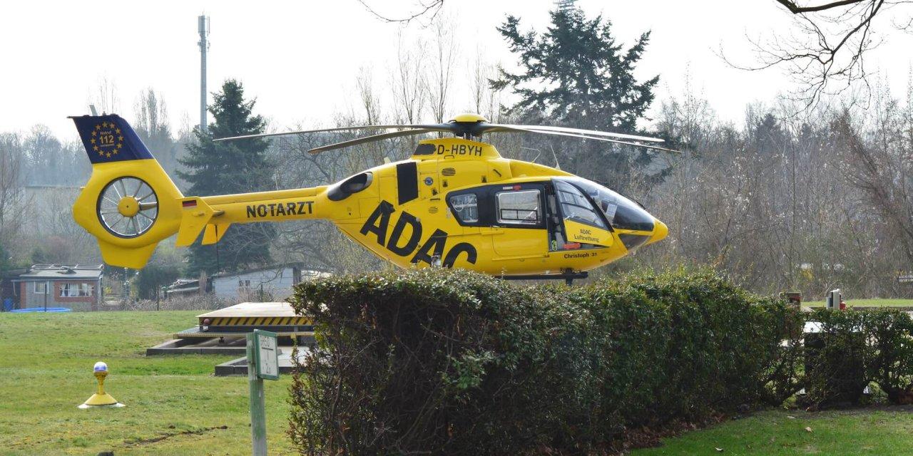 Hubschrauberlandeplatz am Benjamin-Franklin-Krankenhaus in Lichterfelde wird ausgebaut