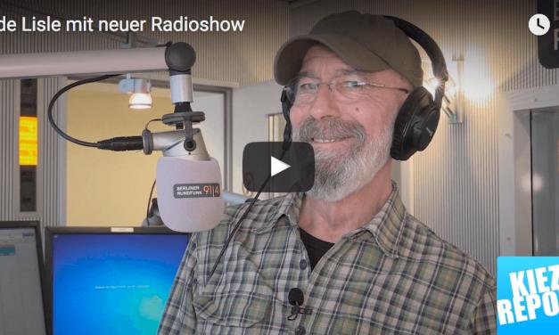 Lichterfelder Rik de Lisle mit neuer Radioshow