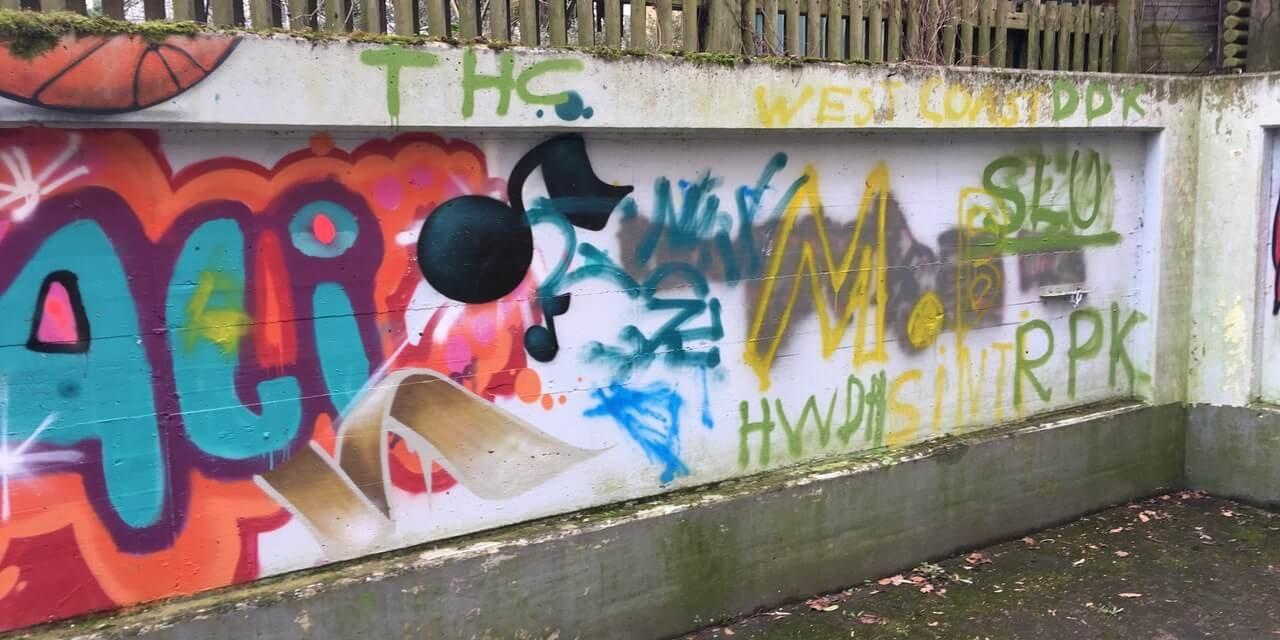 Vandalismus in Lichterfelde: Kinder- und Jugendeinrichtung beschmiert