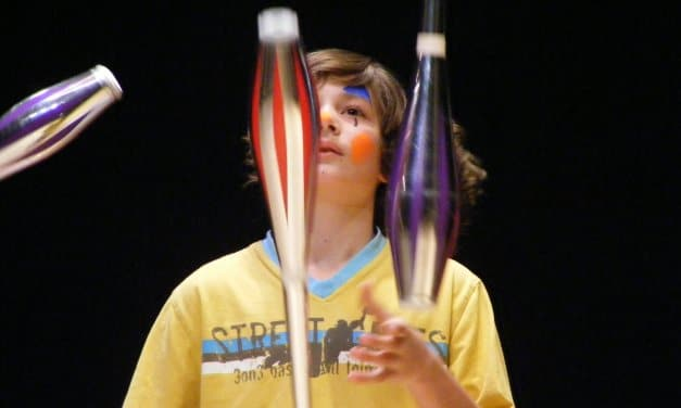 Manege statt Klassenzimmer – Zirkusprojekt in der Conrad-Schule in Wannsee