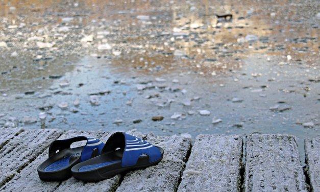 Herausforderung bei acht Grad: Am Karfreitag beginnt die Badesaison am Strandbad Wannsee