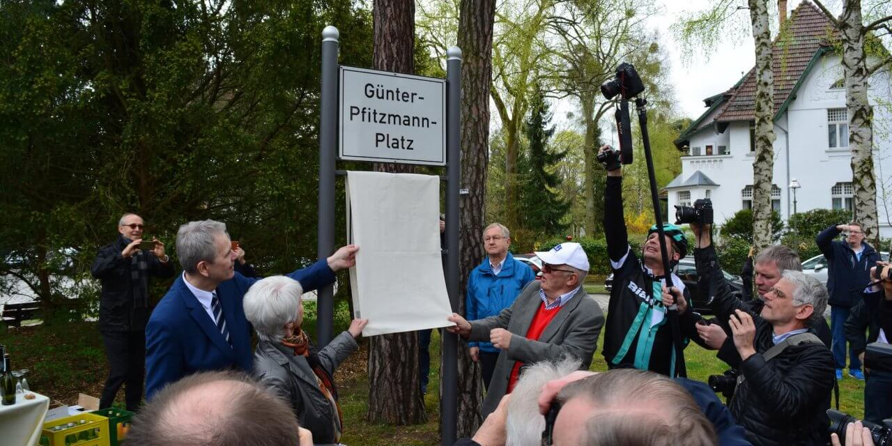 Steglitz-Zehlendorf benennt Platz nach Günter Pfitzmann