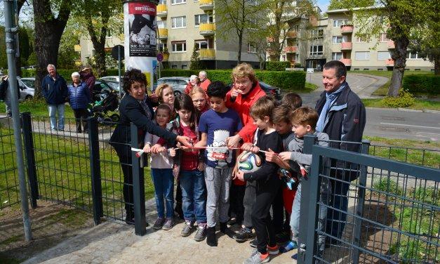 Drei neu gemachte Spielplätze in Steglitz-Zehlendorf eröffnet