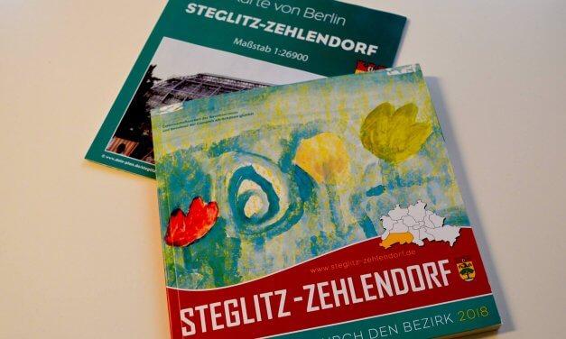 Bezirksbroschüre Steglitz-Zehlendorf liegt wieder kostenlos aus