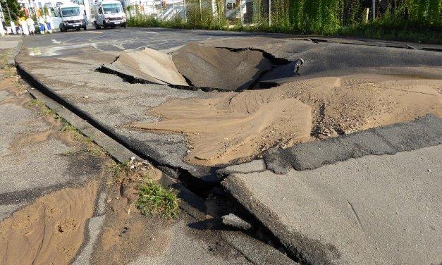 Attilastraße wegen Wasserrohrbruch gesperrt