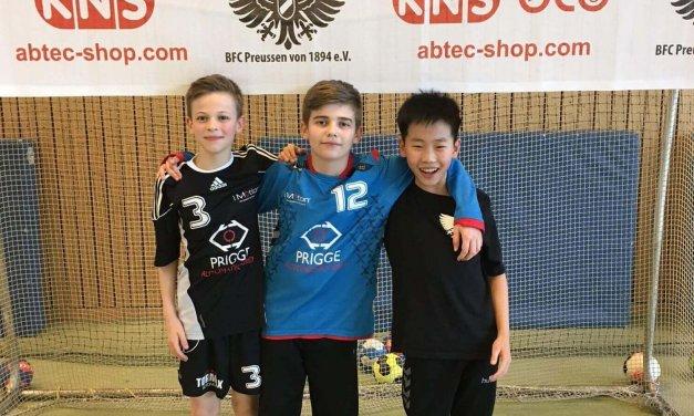 Handballturnier für Lankwitzer Schulmannschaften