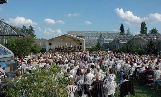 Musikgenuss unter freiem Himmel: Sommerkonzerte im Botanischen Garten starten wieder