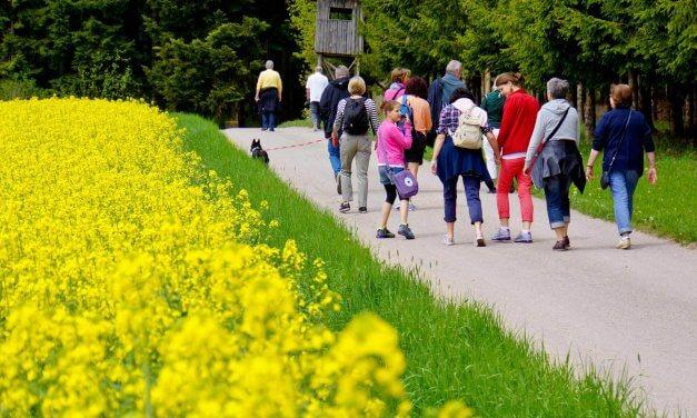 Raus an die frische Luft: Bundestagsabgeordnete ruft zum Wandern auf