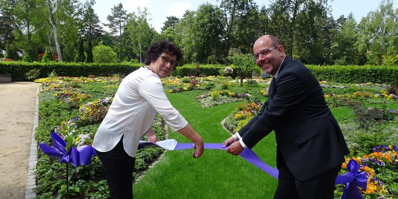 Auf dem Friedhof Zehlendorf wurde zweiter Memoriam-Garten eröffnet