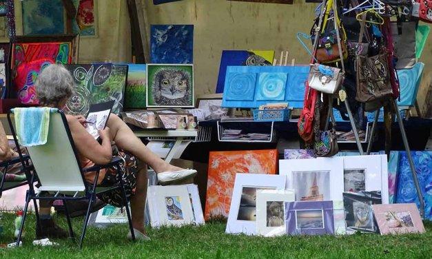 Kunstmarkt der Generationen im Schlosspark Lichterfelde