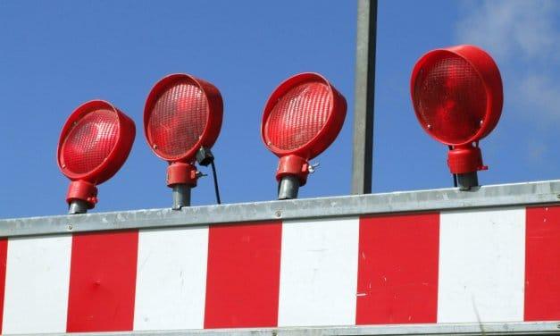 Bauarbeiten am Kleeblatt Zehlendorf: Avus am Wochenende teilweise gesperrt