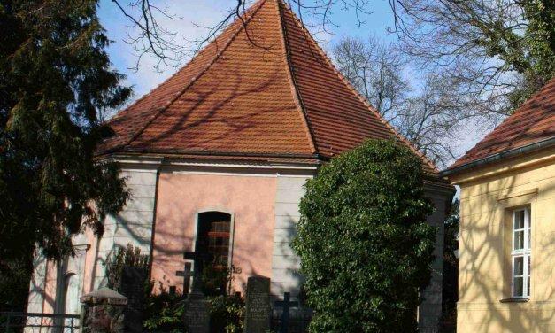 Offene Baustelle an der Alten Dorfkirche Zehlendorf