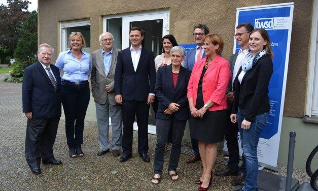 Beratungszentrum und Kiez-Café in Lichterfelde eröffnet