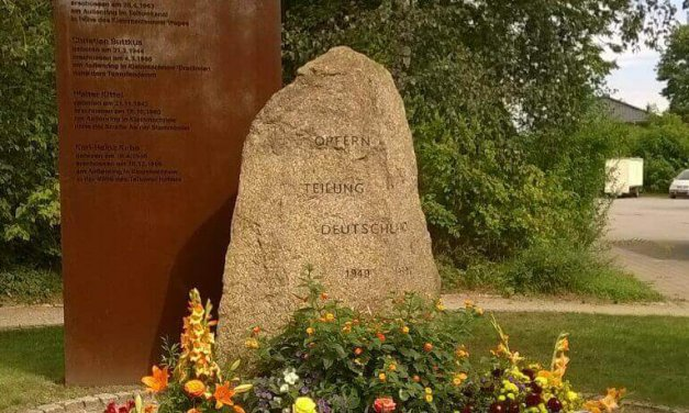 Steglitz-Zehlendorf und Kleinmachnow gedenken der Opfer der deutschen Teilung