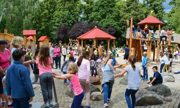 Spielplatz im Gemeindepark Lankwitz neu gestaltet – wunderschön, doch etwas fehlt