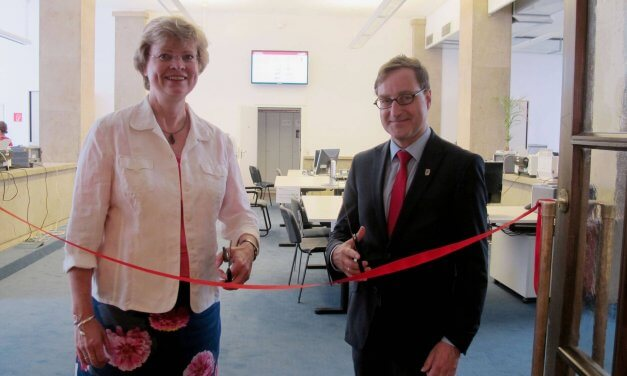 Neue Bürgeramtsräume im Rathaus Zehlendorf eröffnet