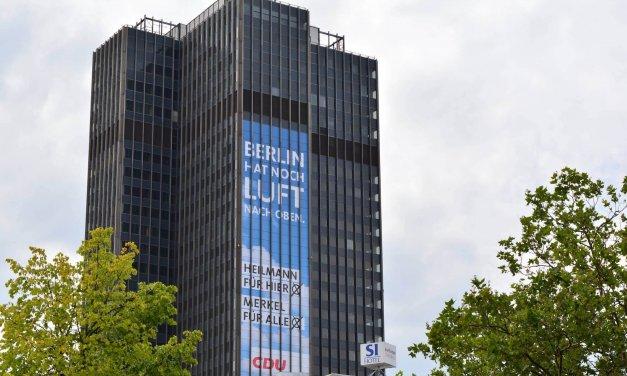 CDU-Wahlplakat am Kreisel sorgt für Verärgerung bei SPD und der Linken