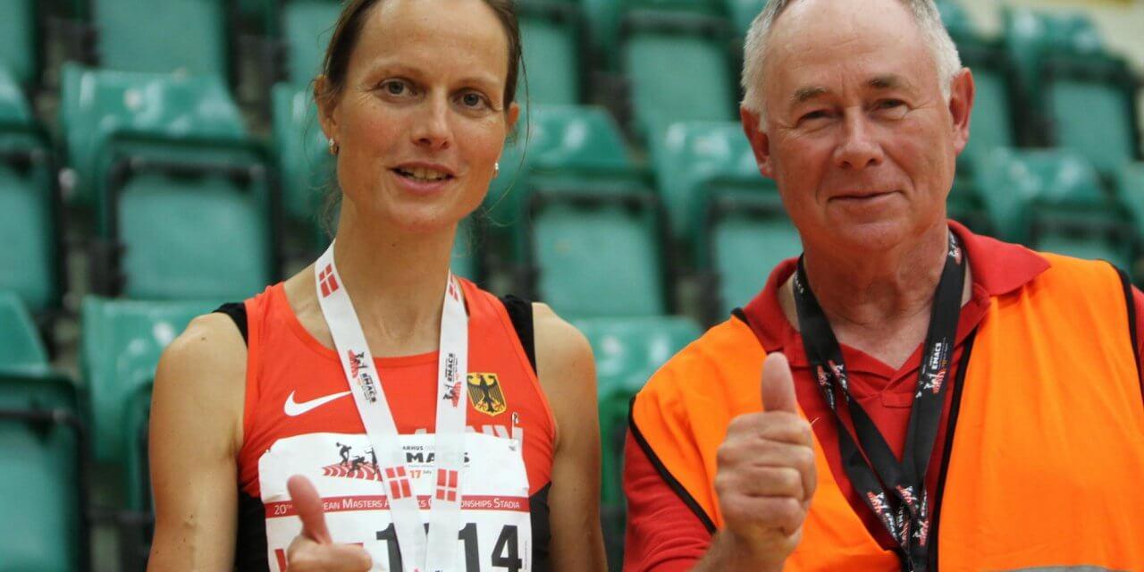Silbermedaille für Kristina da Fonseca-Engelhardt von LG Süd