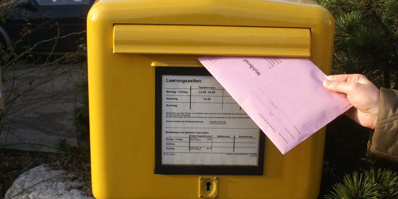 Briefwahlbeteiligung nähert sich der 50%-Marke