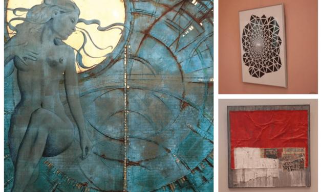 Drei Künstler in drei Räumen des Gutshauses Steglitz mit drei unterschiedlichen Stilen – das ist DREIKLANG!