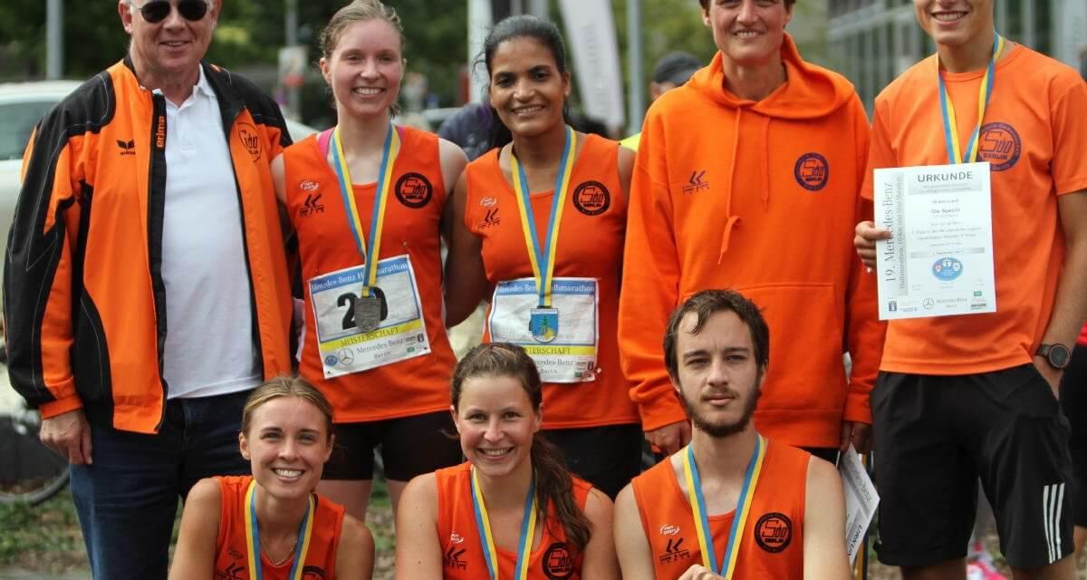 Zwei Meistertitel im Halbmarathonlauf gehen an die Damen der LG Süd Berlin