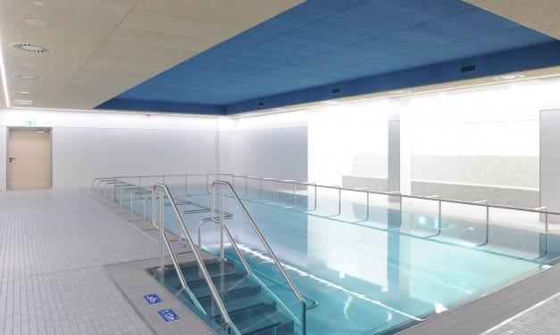 Therapiebad im Immanuel Krankenhaus in Wannsee nach Sanierung wiedereröffnet