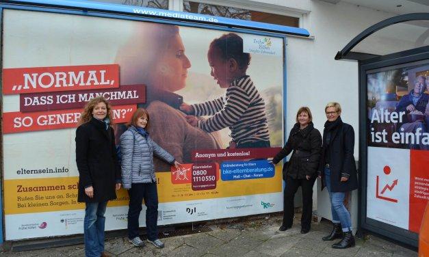 Anonyme und kompetente Beratung für überforderte Eltern – Frühe Hilfen Steglitz-Zehlendorf starten neue Aktion