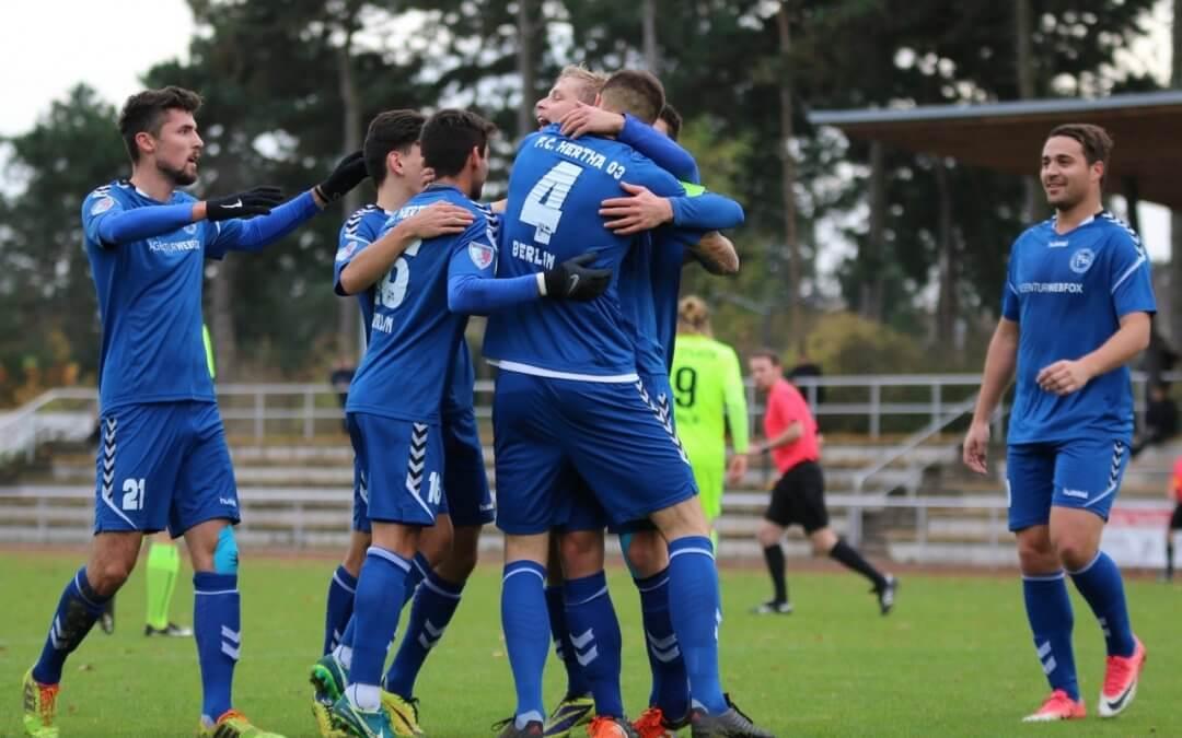 Hertha 03: Zehlendorfer setzen Erfolgsserie fort
