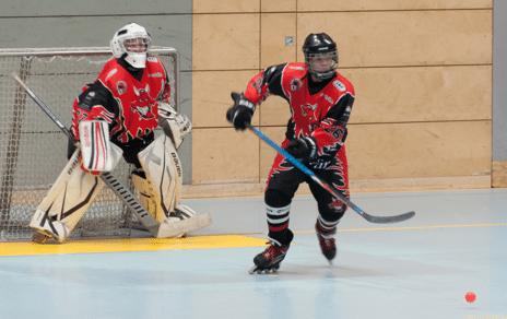 Deutsche Schüler-Meisterschaft im Inline-Skaterhockey in Lichterfelde
