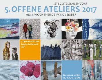 """Spaziergang zur Kunst – """"Offene Ateliers"""" in Steglitz-Zehlendorf"""