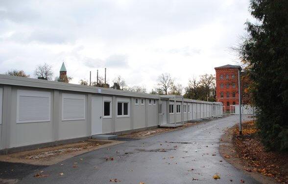 Tag der offenen Tür in der Flüchtlingsunterkunft Finckensteinallee in Lichterfelde