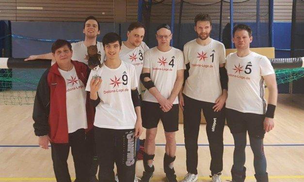 Berliner Torballer verteidigen erfolgreich Louis-Braille-Pokal in Steglitz