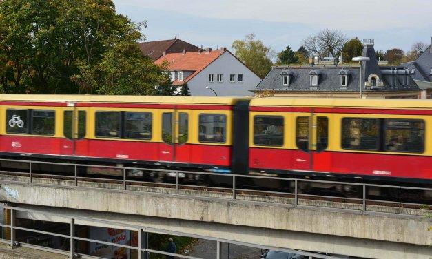S1, S2, S25 und S26: Am Wochenende kein S-Bahn-Verkehr zwischen Schöneberg / Südkreuz und Gesundbrunnen