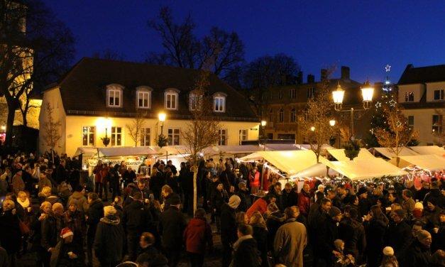 Stimmungsvoller Weihnachtsmarkt in Teltow