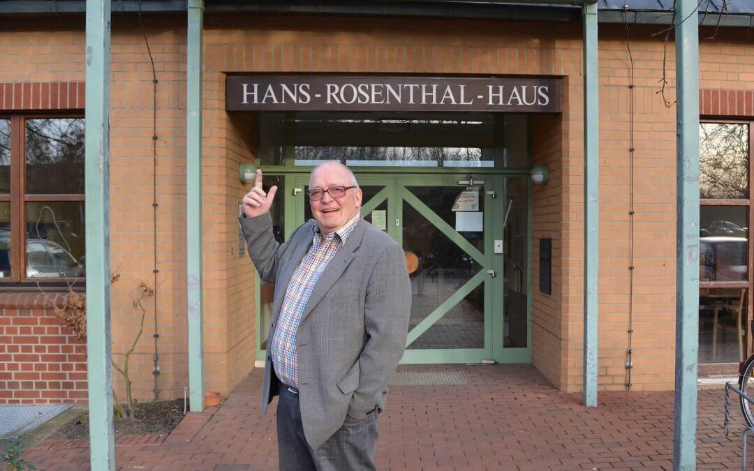 Radiolegende Nero Brandenburg hat mit Hans-Rosenthal-Haus in Zehlendorf viel vor